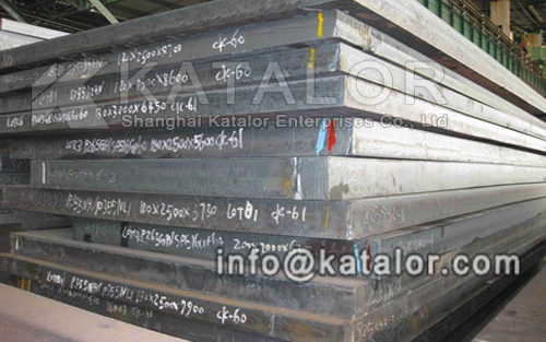 Shanghai Katalor factory supply GB/T713 Q245R steel plate