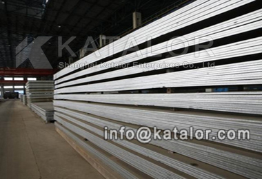 EN 10028-4 12Ni14 Pressure Vessel Steel Plate gold suppl